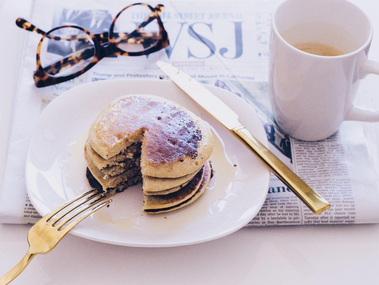 Oatmeal Plantain Pancakes