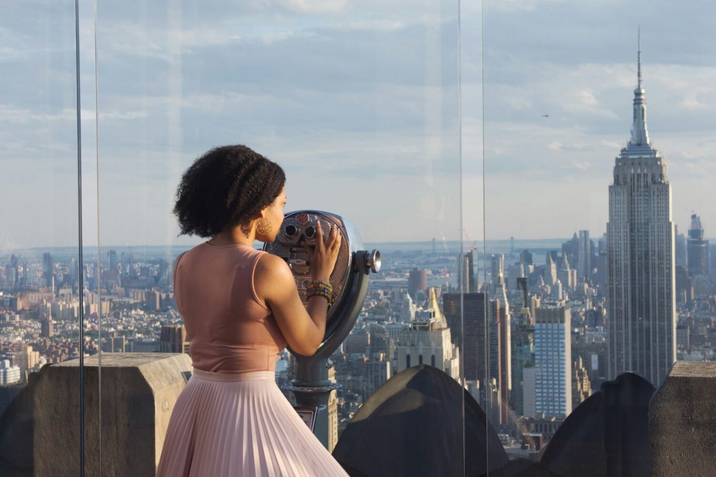 Meeting Strangers at the Top of the Rock